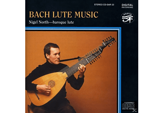 Nigel North - Bach Lute Music - (CD)
