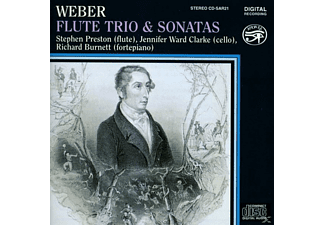 PRESTON, WARD CLARKE, BURNETT - Flute Trio and Sonatas - (CD)