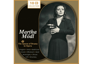 VARIOUS, Martha Mödl - Martha Mödl - The Queen Of Drama In Opera - (CD)