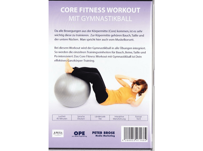 CORE FITNESS WORKOUT [DVD]