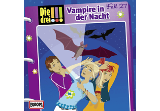 SONY MUSIC ENTERTAINMENT (GER) Die drei !!! 27: Vampire in der Nacht