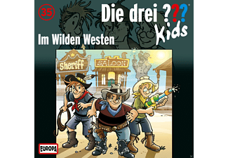SONY MUSIC ENTERTAINMENT (GER) Die Drei ??? Kids - 035/Im Wilden Westen