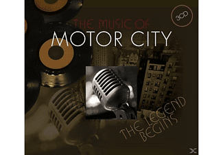 VARIOUS - The Music Of Motor City - The Legend Begins [Box-set] - (CD)