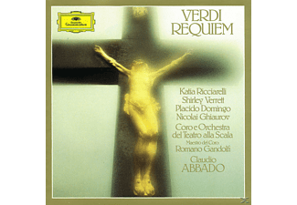 Claudio Abbado, Domingo/Abbado/OTSM - Messa Da Requiem (Ga) - (CD)