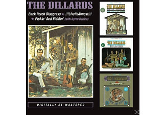 The Dillards - Back Porch Bluegrass/Live Live Almost/Pickin' And - (CD)