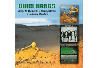 Dixie Dregs - Dregs Of The Earth/Unsungheroes/Industry Standard - (CD)