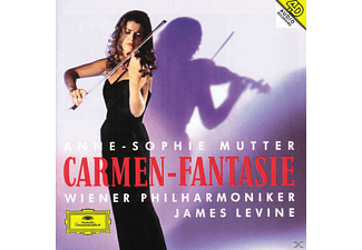 Anne-Sophie Mutter, James Levine, Wiener Philharmoniker - CARMEN-FANTASIE - (CD)