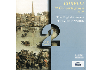The English Concert Orchestra - Concerti Grossi Op.6 (Ga) - (CD)