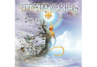 Stratovarius - Elements Pt.1 & 2 (Box-Set) - (CD + DVD Video)