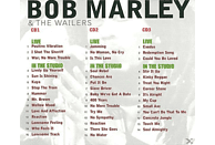 Bob Marley, The Wailers - Live & In The Studio [CD]