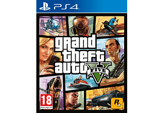 Grand Theft Auto V PEGI für PlayStation 4