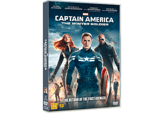 Captain America - The Winter Soldier DVD