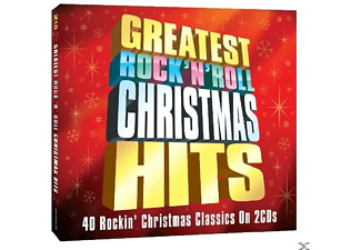 VARIOUS - Greatest Rock 'n' Roll Christmas Hits [Doppel-cd] - (CD)