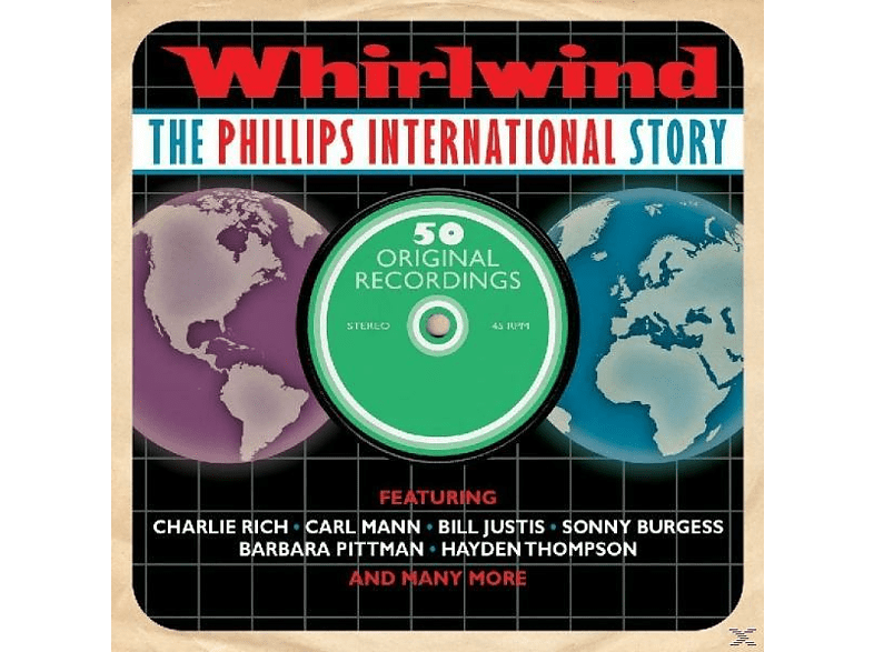 VARIOUS - Whirlwind-Phillips International Story [CD]