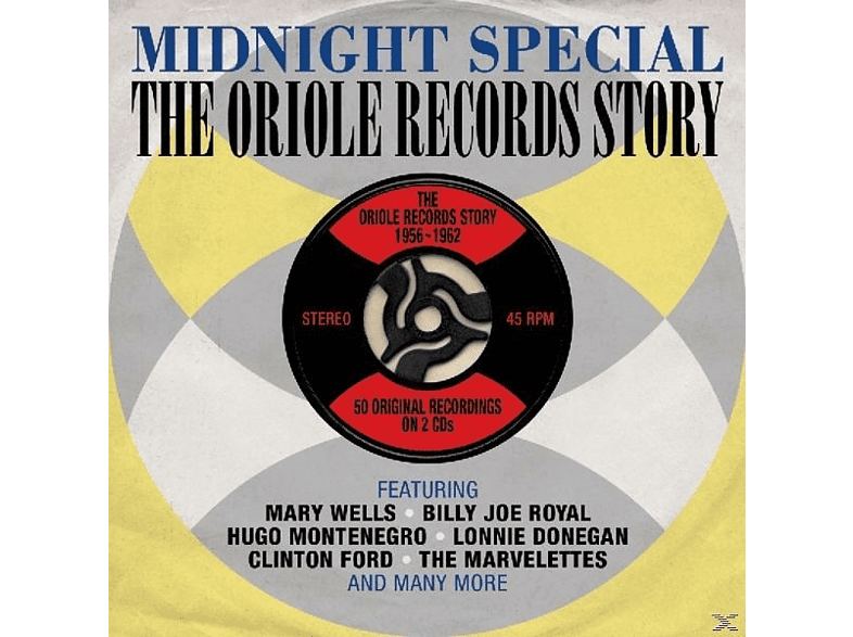 VARIOUS - Oriole Records Story 1956-1962 [CD]