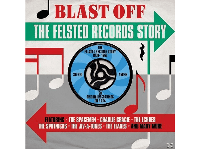 VARIOUS - Blast Off-Felsted Records [CD]