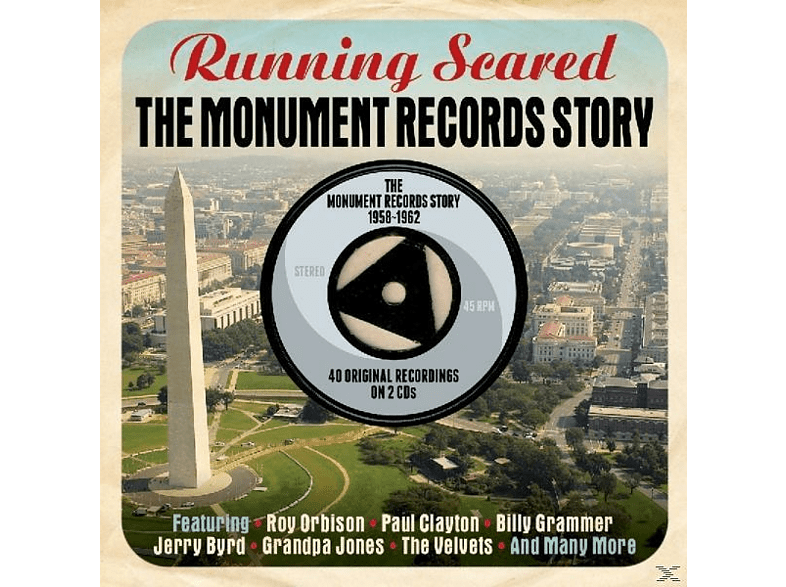 VARIOUS - Running Scare-Monument [CD]
