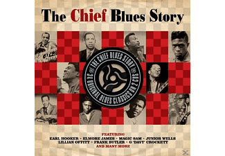 VARIOUS - Chief Blues Story - (CD)