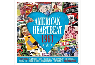 VARIOUS - American Heartbeat 1961 - (CD)