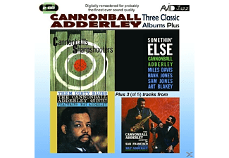 Julian Cannonball Adderley - 3 Classic Albums Plus - (CD)