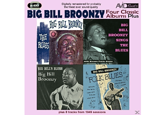 Four Classic Albums - 4 Classic Albums Plus- Big Bill's Blues/sings The Blues/folk - (CD)