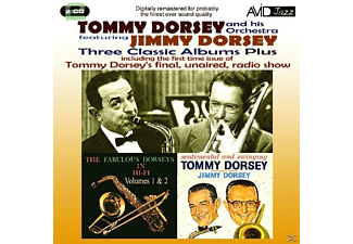 Tommy Dorsey - 3 Classic Albums Plus - (CD)