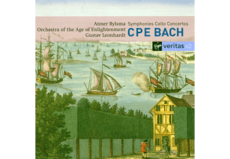 Anner Bylsma, Orchestra Of The Age Of Enligh - Cellokonzerte Und Sinfonien [CD]