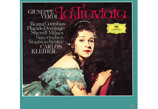 Plácido Domingo, Domingo/Milnes/Kleiber/BSOM - La Traviata (Ga) - (CD)
