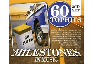 VARIOUS - 60 Top-Hits Milestones - (CD)