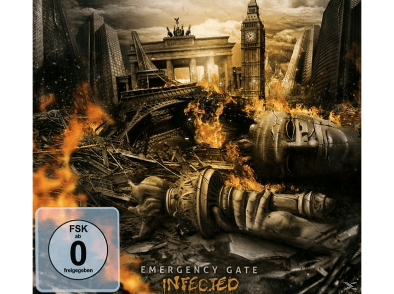 Emergency Gate - Infected (Ltd.Edition) [CD + DVD Video]