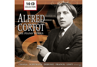 Cortot Alfred - Alfred Cortot-The Piano Works - (CD)