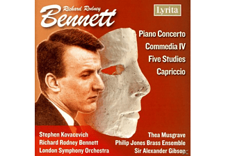 KOVACEVICH, MUSGRAVE, BENNETT, ., - Piano Concerto/Five Studies for - (CD)