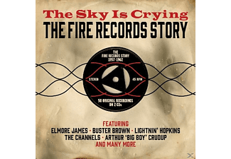 Various  -50 Tks - Sky Is Crying-Fire Records - (CD)