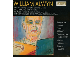 Willison - William Alwyn: Mirages, Divertimento, Naiades, Fantasy Waltz - (CD)