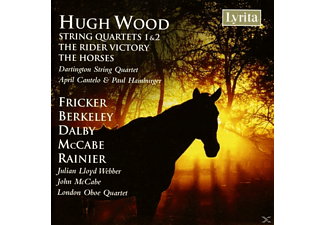 Darlingtonstring Quartet - Hugh Wood: String Quartets Nos. 1 & 2/ The Rider Victory/ Th - (CD)