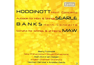 TUCKWELL, CIVIL, HARPER, VARIOUS OR - Horn Concerto/Aubade for horn & - (CD)