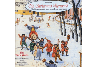 YORK WAITS ENSEMBLE / WISTREICH - Old Christmas Return'd - (CD)