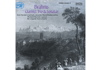 HACKER, WARD CLARKE, BURNETT - Clarinet Trio and Sonatas - (CD)