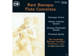The Cambridge Baroque Cam Maclaren - Rare Baroque Flute Concertos - (CD)