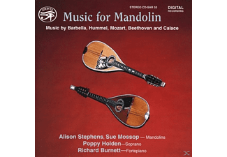 STEPHENS, MOSSOP, HOLDEN, BURNETT - Music for Mandolin - (CD)