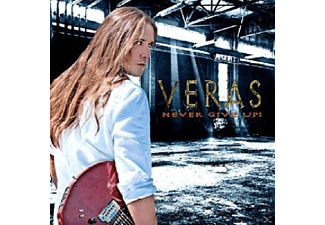 Veras - Never Give Up - (CD)