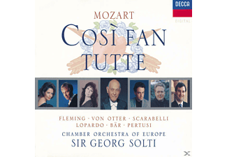 Eco, Fleming/Otter/Bär/Solti/COE - Cosi Fan Tutte (Ga) - (CD)