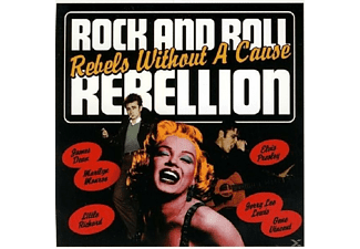 VARIOUS - Rock & Roll Rebellion Rebels Without A Cause - (CD)
