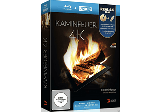 KAMINFEUER (+UHD STICK IN REAL 4K/LTD) - (Blu-ray)