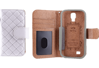 MTU Folio Quilted Galaxy S4 - Vit