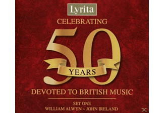 VARIOUS - Lyrita 50th Anniversary Box Set 1 - (CD)