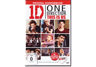 One Direction: This is us (mit exklusivem Pluggy) - (DVD)