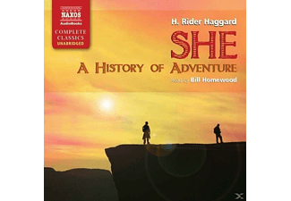 She-A History Of Adventure - 11 CD - Abenteuer