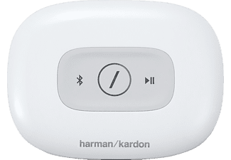 HARMAN KARDON Omni Adapt, Drahtloser HD-Audioadapter, Weiß