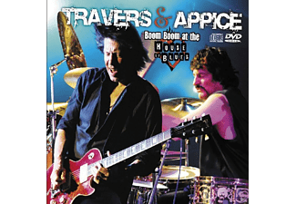 Travers & Appice - Boom Boom At The House Of Blues - (CD + DVD Video)
